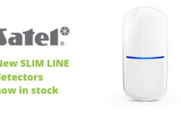 New SLIM LINE detectors now in stock